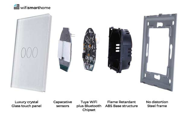 Smart home touch switch