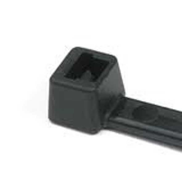 7 inch 50 lb cable tie - UV Black