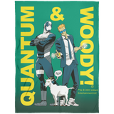 Quantum and Woody 3 - Fleece Blanket 60x80