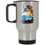 Quantum and Woody 3 - Stainless Travel Mug