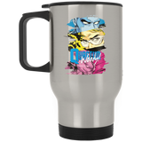 Quantum and Woody 2 - Stainless Travel Mug