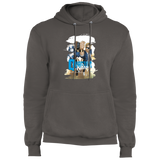 Quantum and Woody 1 - Fleece Pullover Hoodie