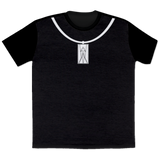 Shadowman Necklace- All Over Print T-Shirt
