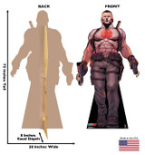 Bloodshot  Standee - Life Sized Cut Out