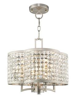 4 Light BN Mini Chandelier/Ceiling Mount (108|50574-91)