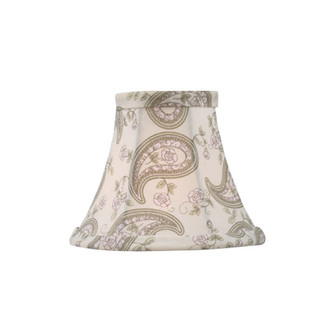 Paisley Design Silk Bell Clip Shade (108 S321)