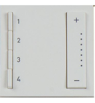 Soft Tap - Wi-Fi Ready In Wall Scene Controller (1452 ADTPRIWHCW1)