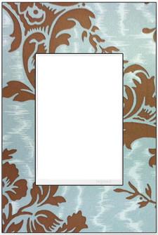Custom Wall Plate, 1-Gang +, White Trim (1452|AWM1G3W4)