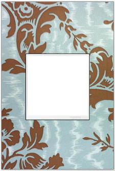 Custom Wall Plate, 1-Gang, White Trim (1452|AWM1G2W4)