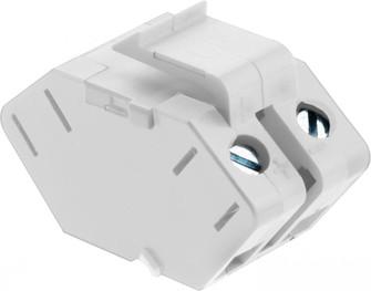 Single Keystone Speaker Connector (1452|ACSSIW1)