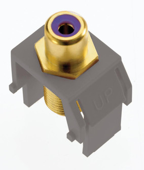 Subwoofer RCA to F-Connector (1452|ACPRCAFM1)