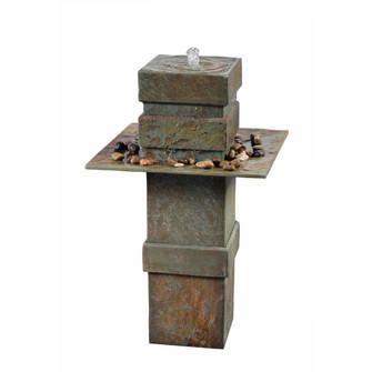 Pilaster Outdoor Floor Fountain (67|51049SL)