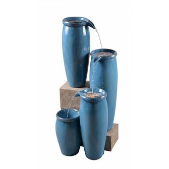 Vessel Indoor/Outdoor Floor Fountain (67|51029BLU)