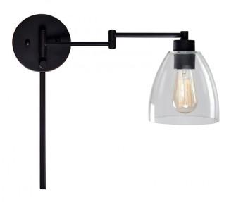 Edis Wall Swing Arm Lamp (67|33077ORB)