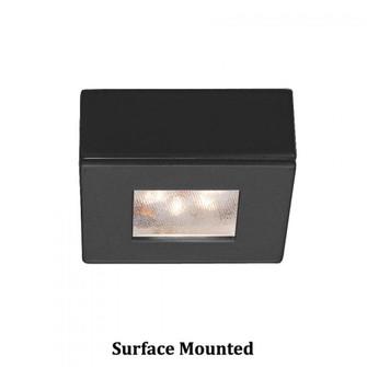 Square LED Button Light (16|HR-LED87S-27-BK)