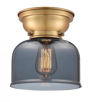 Large Bell 1 Light Flush Mount (3442|623-1F-BB-G73)