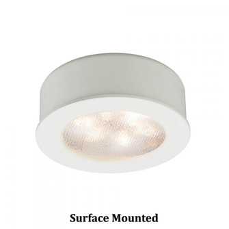 Round LED Button Light (16|HR-LED87-WT)