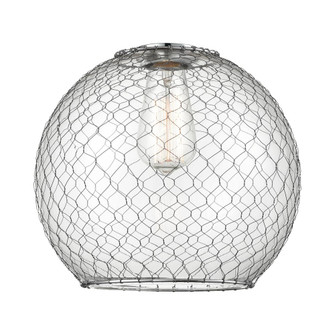 Large Farmhouse Chicken Wire Glass (3442|G122-10CSN)