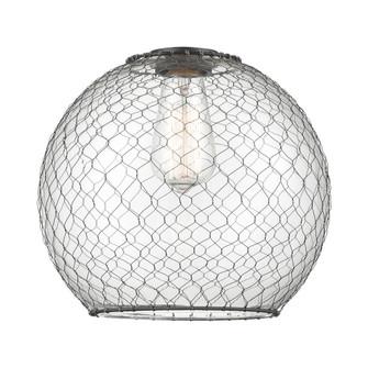 Large Farmhouse Chicken Wire Glass (3442|G122-10CBK)