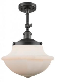 Small Oxford 1 Light Semi-Flush Mount (3442|201F-OB-G531-LED)