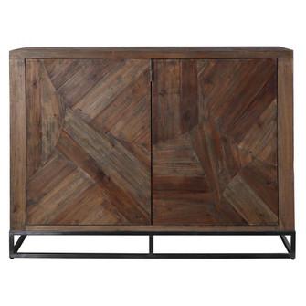 Uttermost Evros Reclaimed Wood 2 Door Cabinet (85 24932)