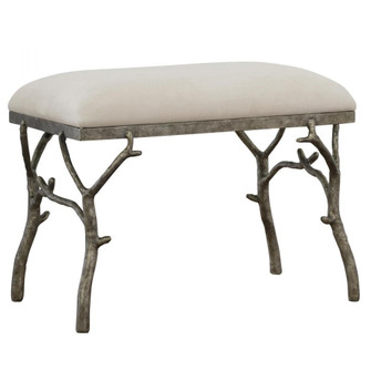 Uttermost Lismore Small Fabric Bench (85 23544)