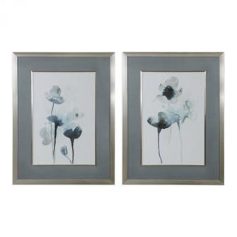 Uttermost Midnight Blossoms Framed Prints Set/2 (85|33688)