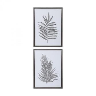Uttermost Silver Ferns Framed Prints Set/2 (85|33685)