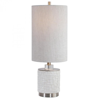 Uttermost Elyn Glossy White Accent Lamp (85|29731-1)