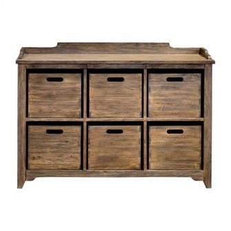 Uttermost Ardusin Driftwood Hobby Cupboard (85 25877)