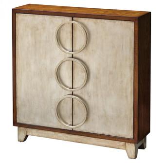Uttermost Jacinta Silver Cabinet (85 25789)