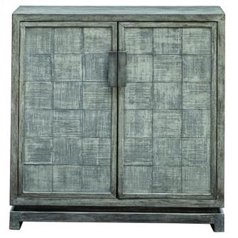 Uttermost Hamadi Distressed Gray 2 Door Cabinet (85 25444)