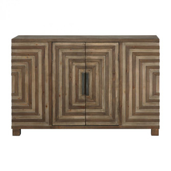 Uttermost Layton Geometric Console Cabinet (85 24773)
