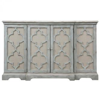 Uttermost Sophie 4 Door Grey Cabinet (85 24520)