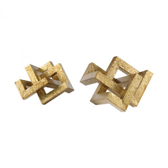 Uttermost Ayan Gold Accents, S/2 (85 18927)