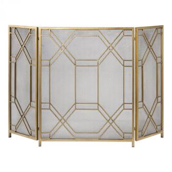 Uttermost Rosen Gold Fireplace Screen (85|18707)