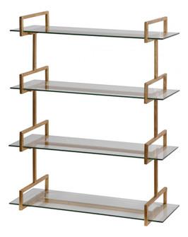 Uttermost Auley Gold Wall Shelf (85|04038)