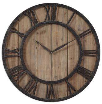 Uttermost Powell Wooden Wall Clock (85|06344)