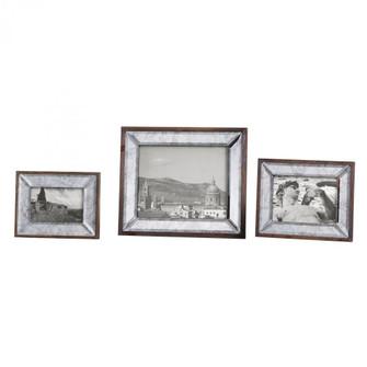 Uttermost Daria Antique Mirror Photo Frames S/3 (85|18567)