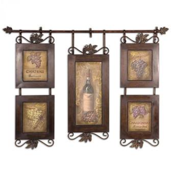 Uttermost Hanging Wine Framed Art (85|50791)