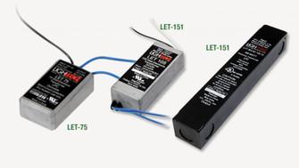 12VAC Electronic Remote Transformer for 12V Xenon Pucks (674|LET60)