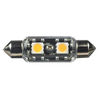 12V Frosted T3 Festoon 2700K LED Lamp (38|96116S-33)
