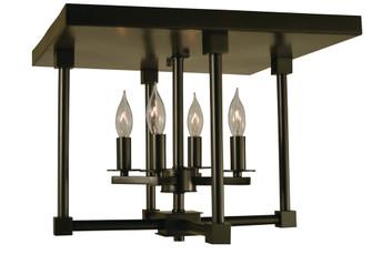 4-Light Mahogany Bronze Lexington 15'' Semiflush (84 4600 MB)