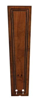 22'' CARVED RECTANGLE FRAME WOOD BLADE SET , RICH CO - (90 B5132RC)