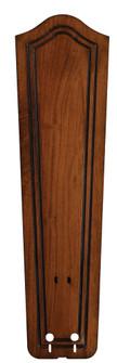 22'' CARVED BULGE FRAME WOOD BLADE SET , RICH COGNAC - (90|B5131RC)