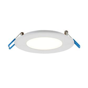 LED SLIM REC,4IN,9W,RND,WHT (4304|28987-017)