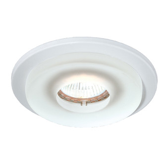 TRIM,4IN,RND FROSTED GLASS,WHT (4304|19161-57)