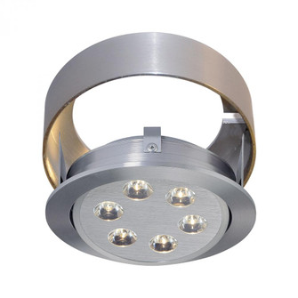 Tiro Collar 6 Light Tiro Conversion ring for J-Box in Brushed Aluminum (91|WLC142-N-98)