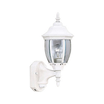 6'' Wall Lantern - Motion Detector (21|2420MD-WH)