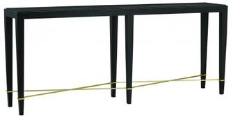 Verona Black Console Table (92|3000-0097)